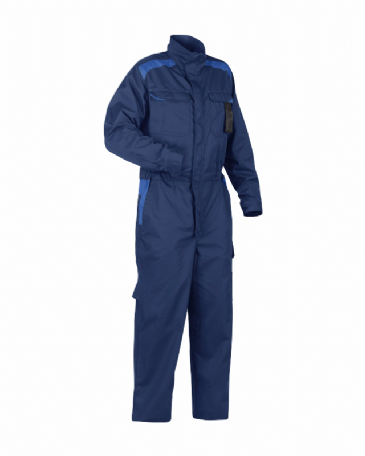 Blaklader 6054 Industry Coverall 65% Polyester 35% Cotton (Navy Blue/Cornflower Blue)